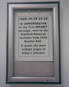 ARPANET, 1969-10-29 22:30