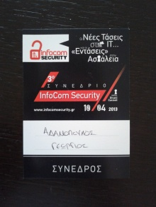 3rd Infocom Security badge