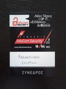 3rd Infocom Security badge
