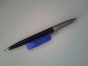 Parker Jotter, Navy Blue mechanical pencil