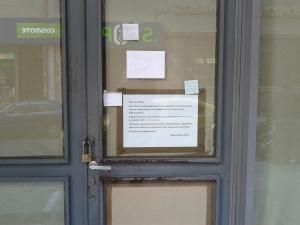 Εστία, η πόρτα
